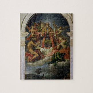 St. Nicholas in Glory with Saints Puzzle