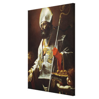 St. Nicholas of Bari Canvas Print