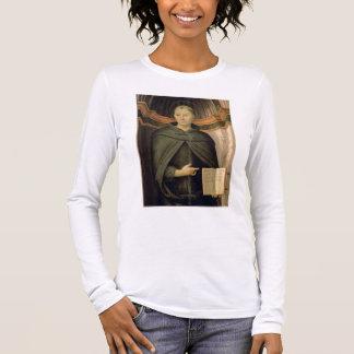 St. Nicholas of Tolentino (panel) Long Sleeve T-Shirt