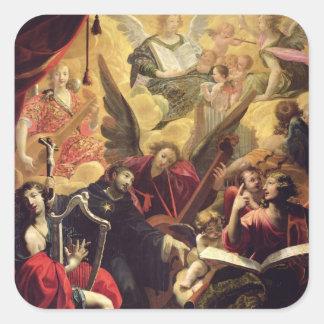 St. Nicholas of Tolentino Square Sticker