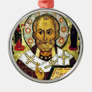 St. Nicholas - Patron Saint of Children Christmas Ornament