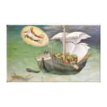 St. Nicholas Saves a Ship from Wreckage Canvas Print