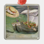St. Nicholas Saves a Ship from Wreckage Christmas Ornament