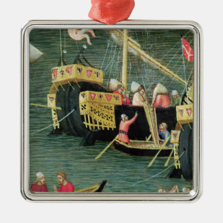 St. Nicholas Saves Mira from Famine Christmas Ornament