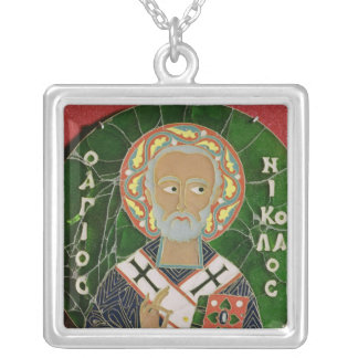 St. Nicholas Silver Plated Necklace