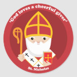 St. Nicholas Stickers