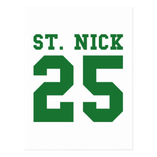 St. Nick 25 Postcard