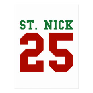 St. Nick 25 Postcard