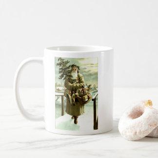 St Nick Comes to Town Coffee Mug
