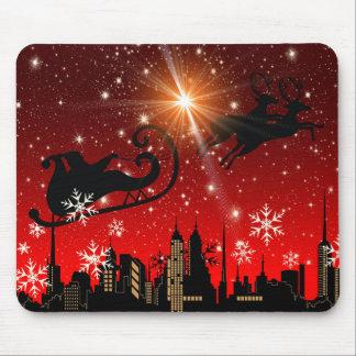 St Nick on Christmas Eve Mousepads