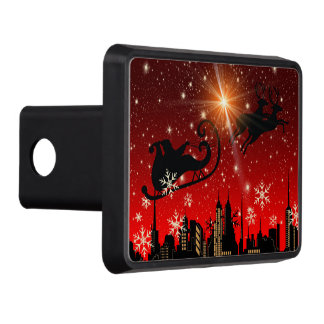 St Nick on Christmas Eve Hitch Cover