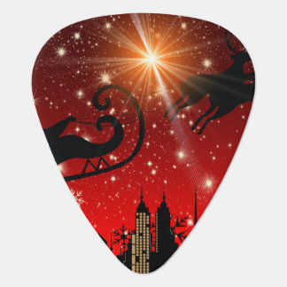 St Nick on Christmas Eve Plectrum