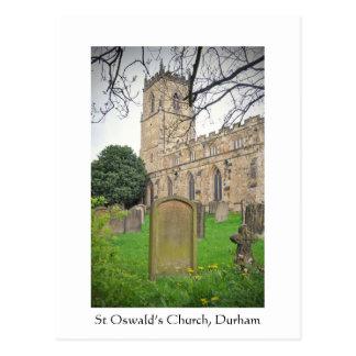 St Oswald's Church, Durham Postcard