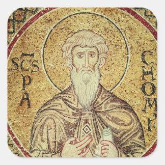 St. Pachomius Square Sticker