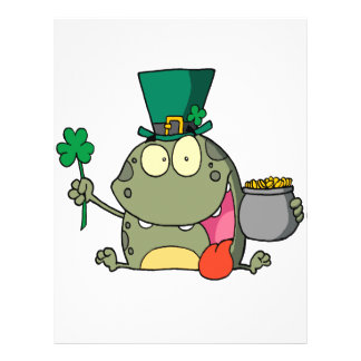 st paddy patty day froggy frog flyers