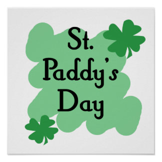 St Paddy s Day Posters
