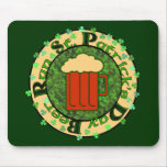 St Paddy's Beer Run Mouse Pads