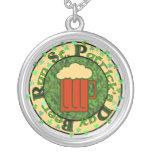 St Paddy's Beer Run Pendant