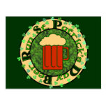 St Paddy's Beer Run Postcard