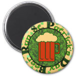 St Paddy's Beer Run Refrigerator Magnets
