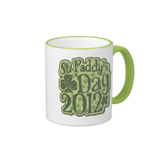 St Paddys Day 2012 Ringer Mug