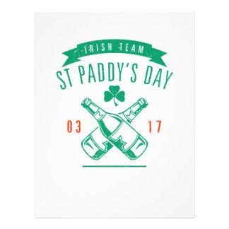 St Paddy's day 21.5 Cm X 28 Cm Flyer