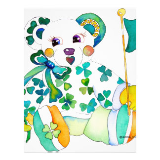 St Paddy's Day Bear Flyers