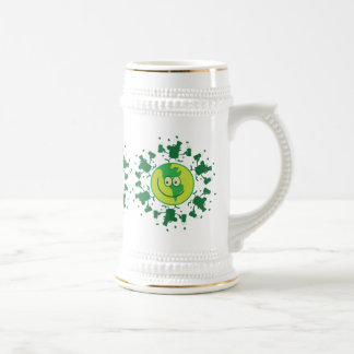St. Paddy's Day Beer Toast with Leprechauns Coffee Mugs