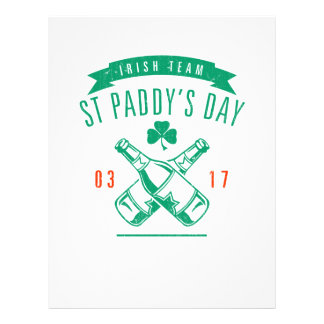 St Paddy's day Custom Flyer