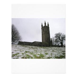 St Pancras Church Widecombe in the Moor Devon UK Flyer