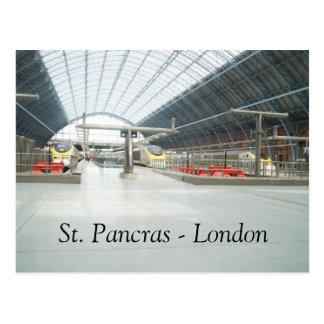 St. Pancras - London - Postcard
