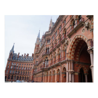 St. Pancras - London - Postcard