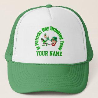St Patrck's day drinking team Trucker Hat