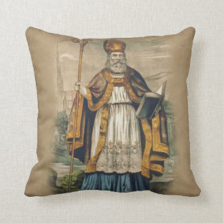 St. Patrick Bishop of Ireland Cushion