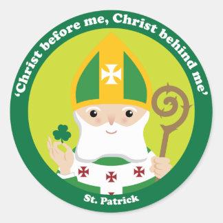 St. Patrick Classic Round Sticker