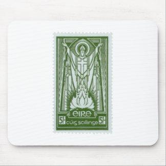 St. Patrick Irish Postage Stamp Mouse Pad