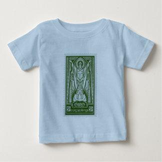 St. Patrick Irish Postage Stamp T-shirts