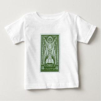 St. Patrick Irish Postage Stamp Tshirts