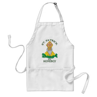 St. Patrick Is My Homeboy Standard Apron