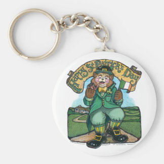 St Patrick Key Chain
