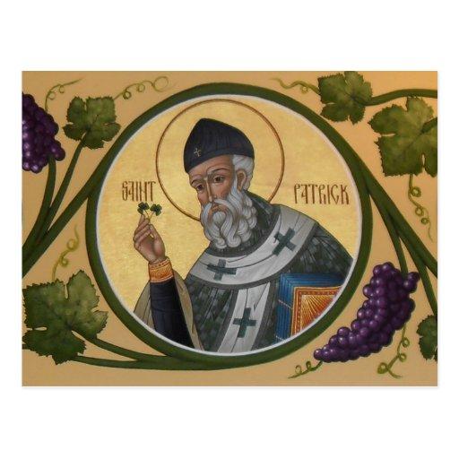 St. Patrick Prayer Card Postcards