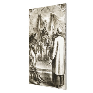 St. Patrick preaching at Tara, from 'The Trias Thu Canvas Print