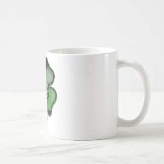 St Patrick s Day Bling rub for luck Coffee Mug