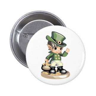 St Patrick s Day Button Button