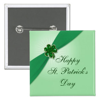 St Patrick s Day Button