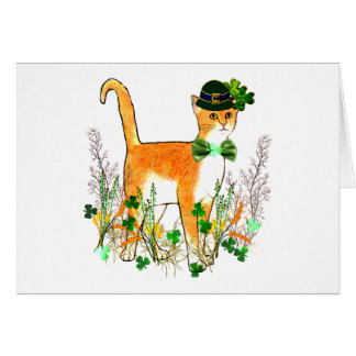 St Patrick s Day Cat Cards