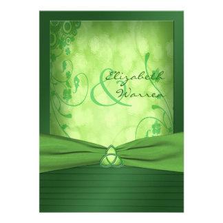 St Patrick s Day Celtic Love Knot Invitation