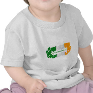 St Patrick s Day Clover Flag Tshirt