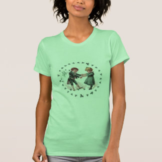 St Patrick s Day Dancing Children T-shirts
