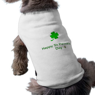 St Patrick s Day Doggie Tee Shirt
